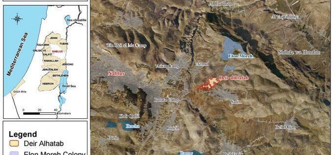 Prohibiting Land Usage in Deir al Hatab
