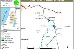 إخطار 68 منشأة سكنية وزراعية  بالإخلاء في خربة الفارسية