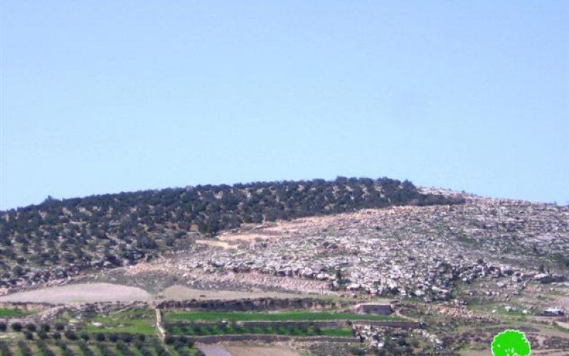 إخطار بإخلاء عشرين دونماً من أراضي بلدة خاراس