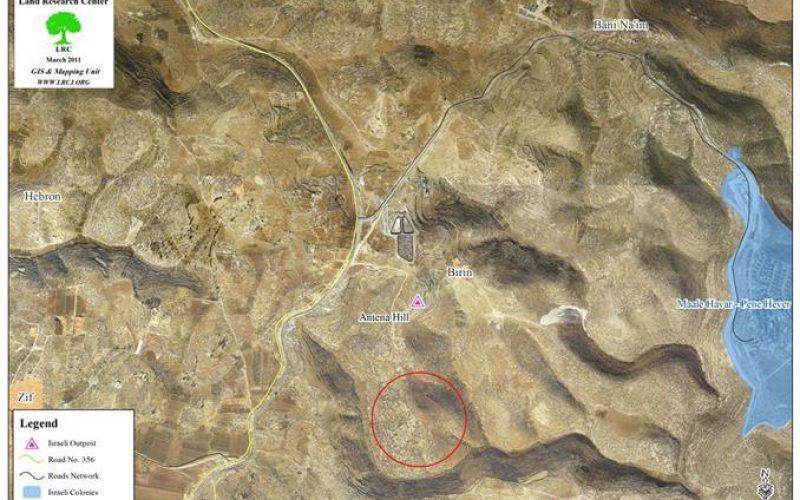 Stop Work Orders in Khirbet Umm Zaytouna in Yatta Town