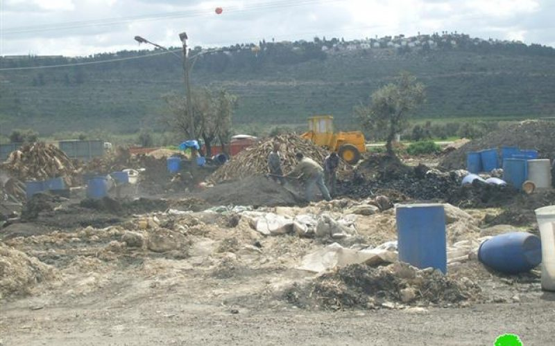 The Israeli Occupation Notifies 18 coal-production facilities