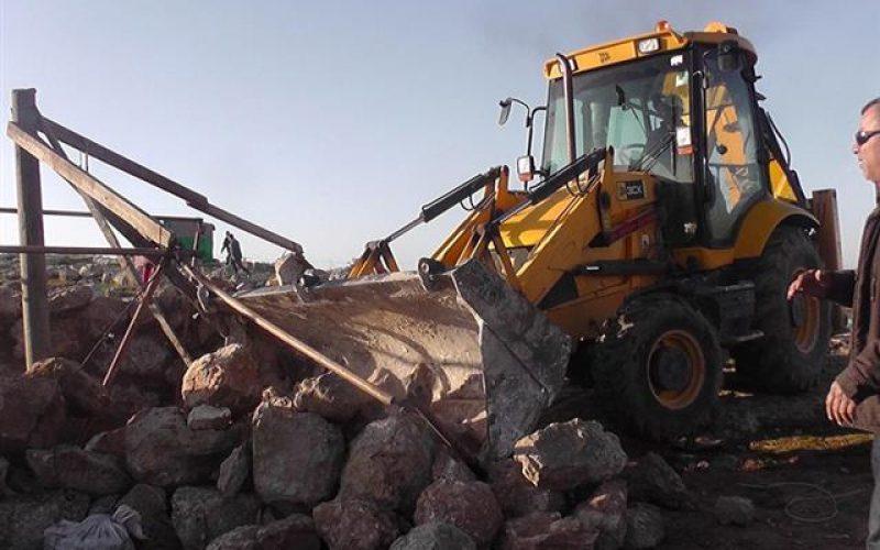 The Demolition of Umm Nir for the Second Time