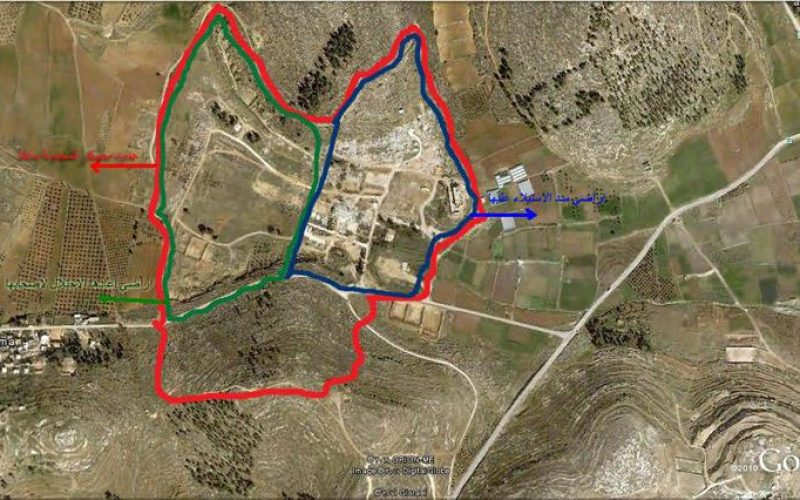 """The Israeli Occupation Military Camp of """"Al Majnouna""""; Are they in or out?"""