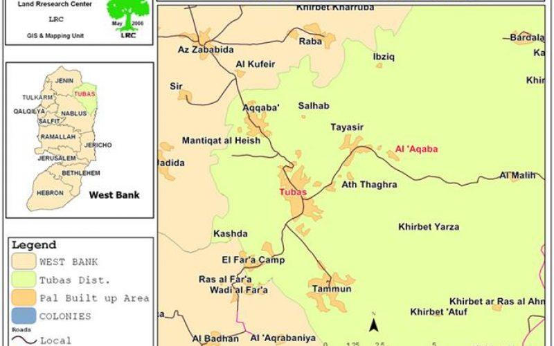 The Israeli Occupation Issues Stop-Work Orders in Al 'Aqaba village