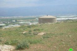 الاحتلال الإسرائيلي يصادر ثلاثة  جرارات زراعية في قرية الجفتلك