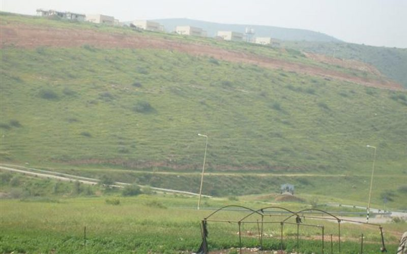 توسيع مستعمرة  مسكيوت في الأغوار الشمالية