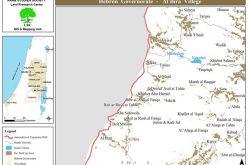 إخطارات  بهدم بركس وبئر مياه في قرية البيرة جنوب الخليل