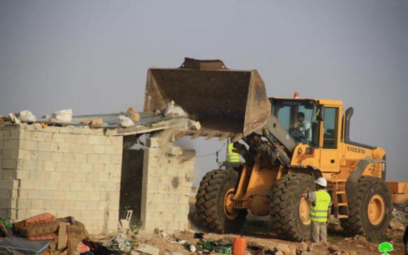 سياسة الاحتلال الممنهجة لتدمير خربة أم نير يطا – محافظة الخليل