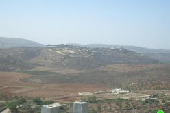 An Israeli Military Order to Remove Electrical Pylons in Jaloud Village -Nablus Governorate