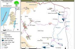 خلال التدريبات العسكرية حرق العشرات من الدونمات الزراعية في  الأغوار- محافظة طوباس