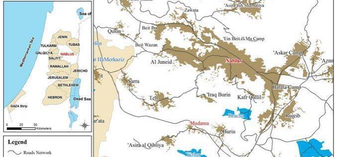Setting Fields Ablaze in Madama – Nablus District