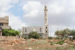 Israeli Military Demolition Orders for a School and a Mosque in Bruqin Village West Of Salfit Governorate