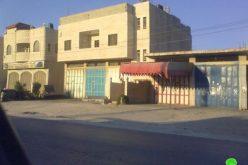 الاحتلال الإسرائيلي يخطر خمسة منازل في بلدة حواره بوقف البناء في محافظة  نابلس