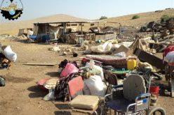قوات الاحتلال الإسرائيلي تهدم أحد عشر مسكنا في الحديدية في محافظة طوباس