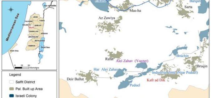 Expansions in Eli Zahav and Bedouil Colonies in Kafr ad Dik