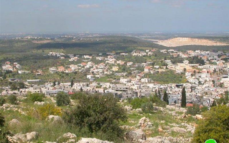 الاحتلال الإسرائيلي يهدم منشات في خربة المنظار غرب مدينة جنين