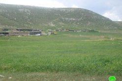 إخطار عدداً من العائلات البدوية من  عرب السلامين  بالرحيل في محافظة أريحا