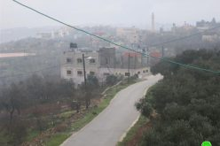 إخطار بتمديد وضع اليد على أراض لصالح الجدار العنصري في قرى اسكاكا و مردا ومدينة سلفيت