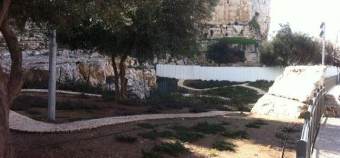 الحدائق التوراتية في القدس المحتلة.. تهويد للأرض وتزوير للتاريخ