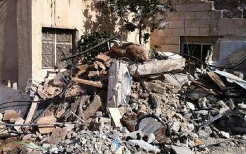 Demolishing Two Residences in Jerusalem