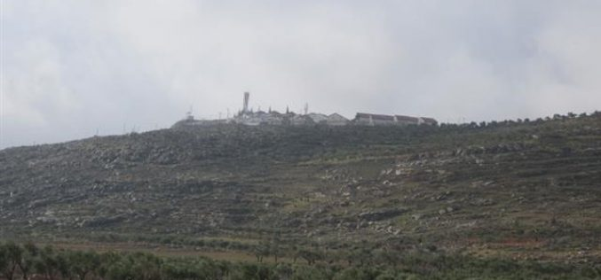 Land Eviction Notification in Qusra and Jurish – Nablus Governorate