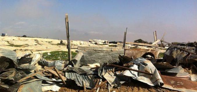 Demolishing 6 Residents in Wa'r al Bek