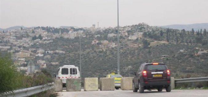Blocking Kafr ad Dik Entrance