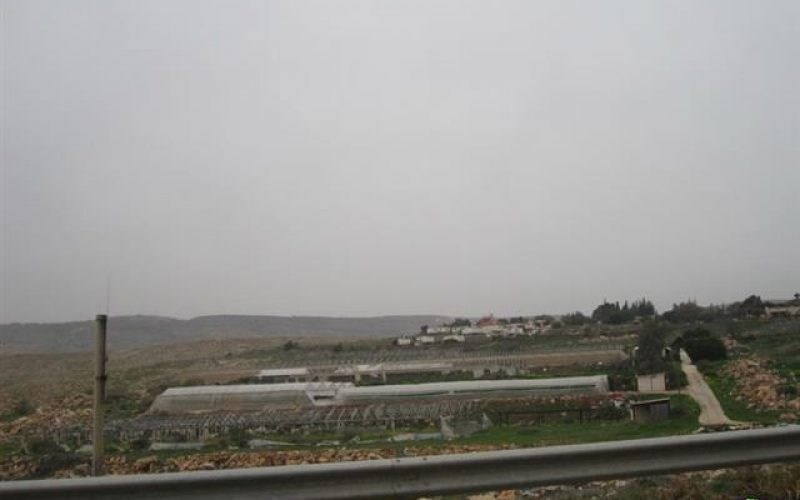 مستعمرة جيتيت الإسرائيلية تتوسع على حساب أراضي بلدة عقربا  – محافظة نابلس