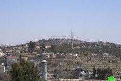 جولات استفزازية للمستعمرين في خربتي وردان والقرن شرق بيت أمر- محافظة الخليل