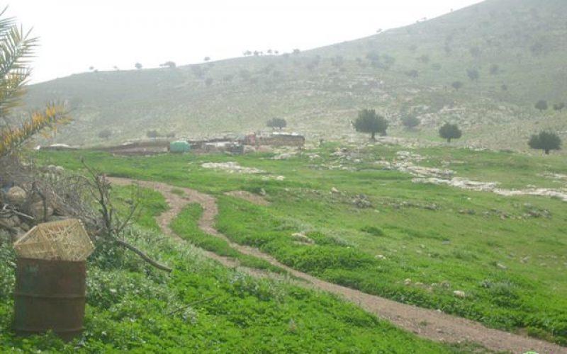 3 Stop-work Orders in Lafjam area in Nablus