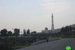 العليا الإسرائيلية  تقر منع الآذان بمسجد سلمان الفارسي في  قرية بورين – محافظة نابلس