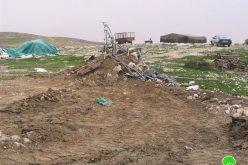 A Demolition Wave Hits Khirbet Al Rahawa South adh Dhahiriya – Hebron Governorate