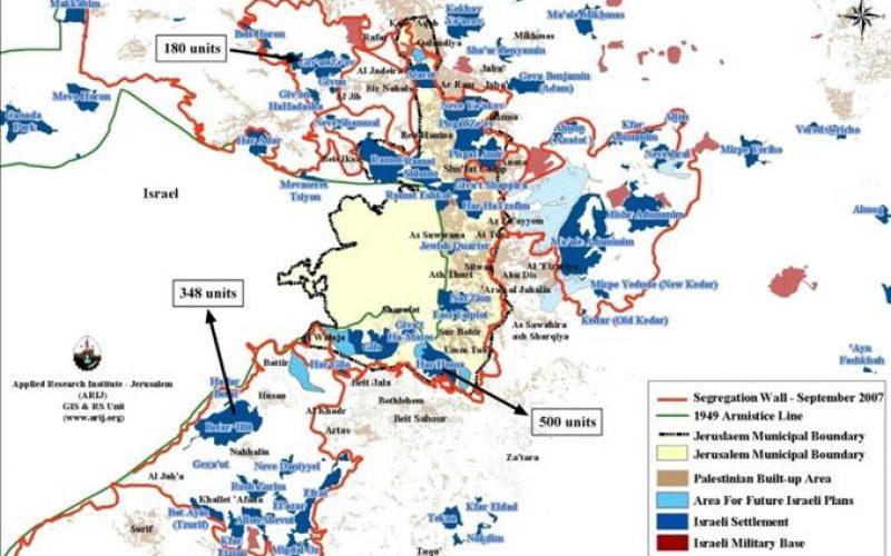 Israël renverse le processus de paix basé sur la solution à deux Etats 1028 nouveaux logements dans les colonies de Jérusalem-Est et de Cisjordanie