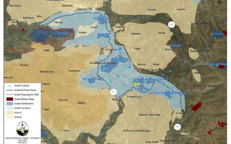 Israeli intensifies settlement construction in the Israeli corridors area