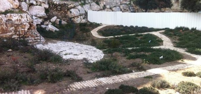 """""""Talmudic"""" Parks in the Occupied City of Jerusalem"""