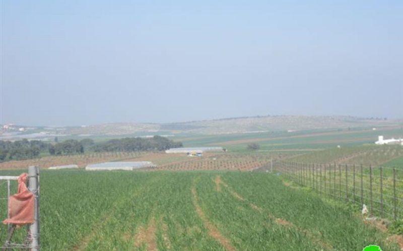 الاحتلال الإسرائيلي يواصل حرمان أهالي قرية كفر دان من استغلال المياه الجوفية في سهول القرية