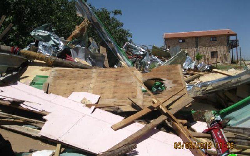 Demolishing a restaurant in al Makhrour – Beit Jala city