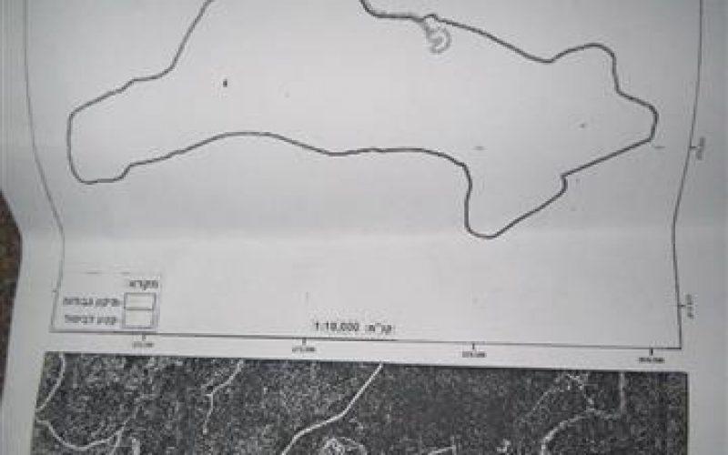 تمديد سريان وضع اليد على 30 دونما في بلدة ديرستيا / محافظة سلفيت