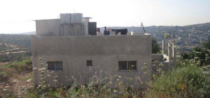 Stop-work Orders in Hijja village – Qalqilyia Governorate