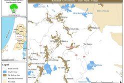 حرق  75 دونماً من الأراضي  الرعوية في قرية كفر مالك