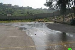 Pumping Huge amount of Sewage towards 'Azzun High School