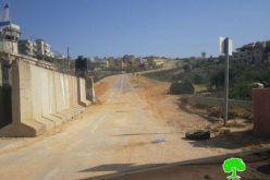 Construction of a New Section of the Wall In Azzun Atma