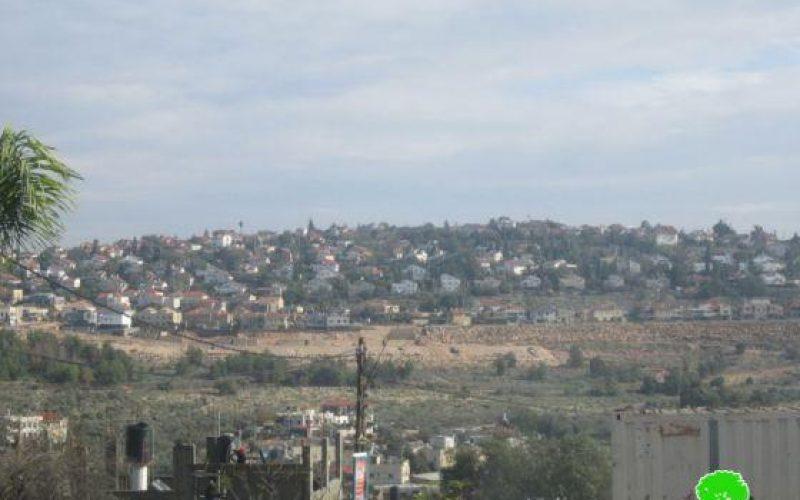 الاحتلال الإسرائيلي يواصل  بناء الجدار العازل في محيط مستوطنتي عوفريم و بيت أريه في محافظة رام الله