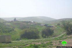 تسليم 8 عائلات بدوية إخطارات بوقف البناء في منطقة المالح
