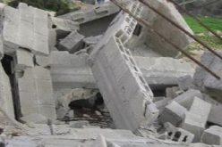 الاحتلال يهدم منزل قيد الإنشاء في رابود جنوب الخليل