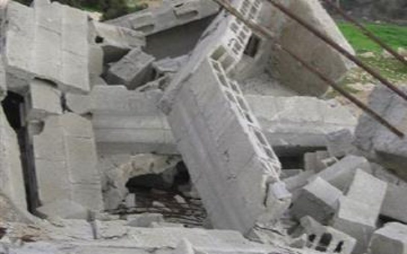 Demolishing a Residence in Rabud