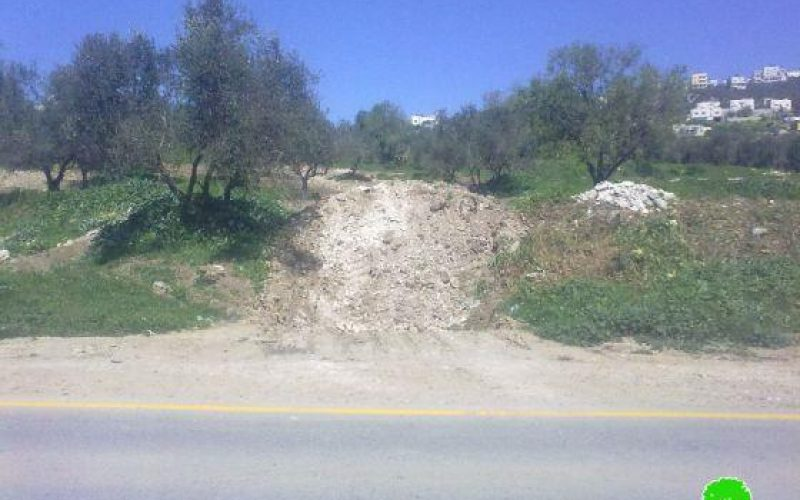 Shutting off agricultural roads and destroying water pipes in Imreiha