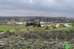 Announcement on turning more than 120 agricultural lands to lands used for colonial residential buildings in Ramallah