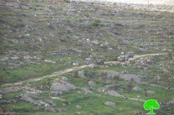 الاحتلال الإسرائيلي يغلق طرقاً زراعية في قرية ياسوف