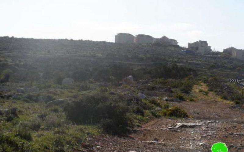 Capturing 117.837 dunums of Salfit Lands